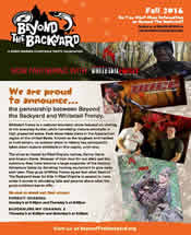 Check out the latest newsletter from Beyond the Backyard!
