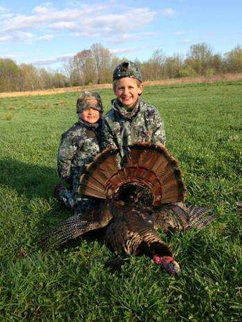 Jackson & Gage Warner had a weekend of turkeys, trout and ramps...the best!
