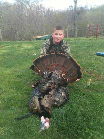 Harvested in Roane County by 10-year-old Zach Shaffer