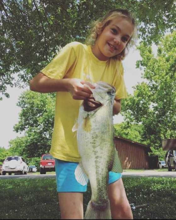 BTB member Selicity shows off her big catch!