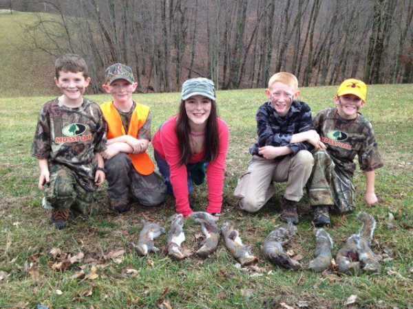 The Lingenfelter family had a squirrel hunt this month and look at the results! Great job everyone!
