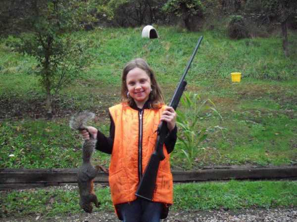 Kyra Beth Romine of St. Albans, WV loves the outdoors.