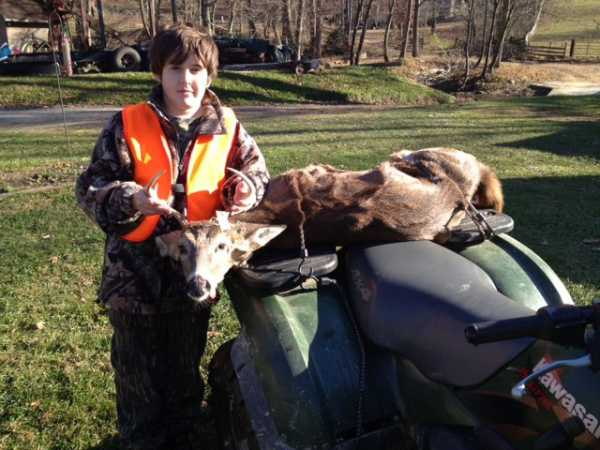 Phillip Clark with a nice 5 point buck
