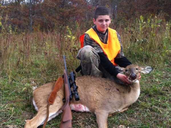 Jason Gillspie Youth Hunt 2012