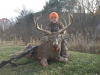 Congratulations to 13-year-old Justin of Hardy County on his impressive buck!